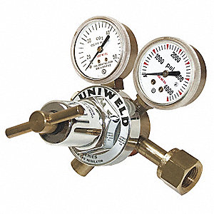 REGULATOR FLOW 2IN GAUGE CO2 CGA320