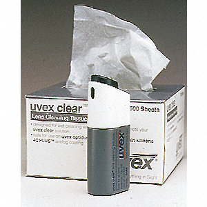 TISSUES LENS CLEANING CLEAR 500/BOX