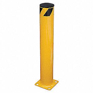 BOLLARD GUARD STEEL SAFETY 4.5 X 24