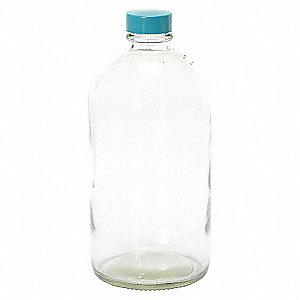 BOTTLE NARROW MOUTH GLASS 16 OZ