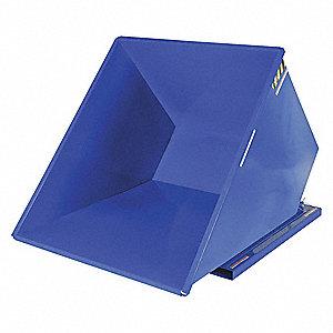 HOPPER SELF-DUMP LT-DUTY BLUE 2 YD