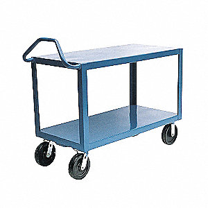 CART ERGO-HANDLE 24X48IN 3 SHELF
