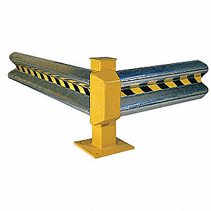 RAIL GUARD GALVANIZED 4 FT LONG
