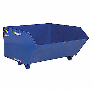HOPPER 90-DEG LIGHT-DUTY BLUE 1/2YD