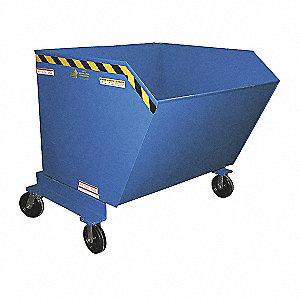 Portable Hopper,1-1/2 cu. yd,2000 lb