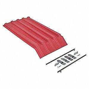 Hopper Lid,Red,Fits 7-1/2 cu. ft.