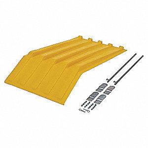 Hopper Lid,Yellow,Fits 13-1/2 cu. ft.