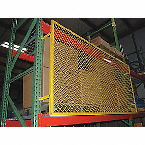 GUARD BACK STEEL PALLET RACK 120X48