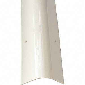 GUARD CORNER PVC ROUND WHITE