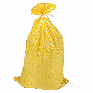 BAGS POLY YELLOW 6 X 8 200-PACK