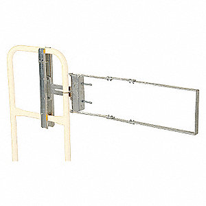 GATE SELF-CLOSING GALVANIZED 24-40