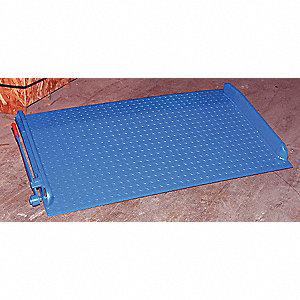 DOCKBOARD STEEL W/CURBS 72X60 15K