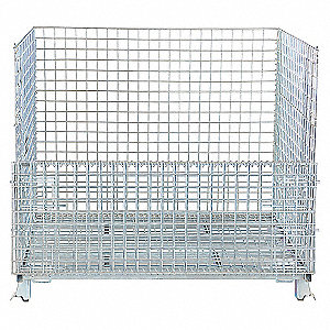 CONTAINER WIRE FOLDING 40X48X30