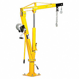 CRANE JIB TRUCK WINCH OPERATED 1K