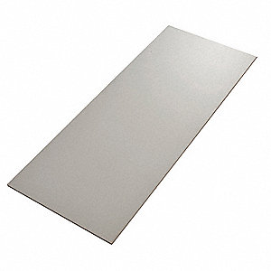 "Laminate used with Boltless Shelving, Bulk Storage Rack, 48""D x 60""W, Gray"