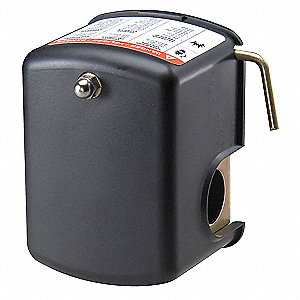 Water Pump Pressure Switch, Differential: 15 to 50 psi, Range: 10 to 100 psi