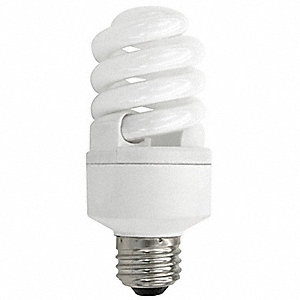 14.0 Watts Screw-In CFL, T3, Medium Screw (E26), 850 Lumens, 2700K Bulb Color Temp.