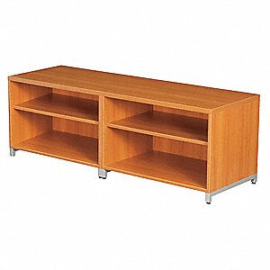 Double Shelf Credenza,OneDesk,20 H,Amber