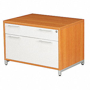 Low Lateral File Cabinet,OneDesk,Amber