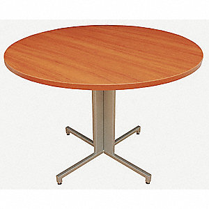 Conference Table,OneDesk,42 Dia.,Amber