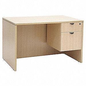 Office Desk 47 X 29 30 In Maple