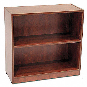 Bookcase,Legacy Series,2-Shelf,Cherry