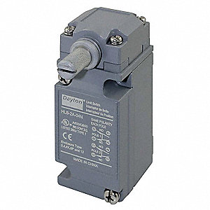 Rotary, No Lever Heavy Duty Limit Switch; Location: Side, Contact Form: DPDT, CW, CCW Movement