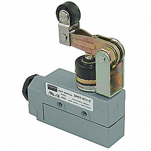 Enclosed Limit Switch, 480VAC/DC Voltage Rating, 15 Amps, Top Actuator Location