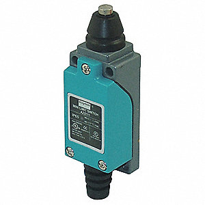 Compact Limit Switch, 300VAC/DC Voltage Rating, 10 Amps, Top Actuator Location