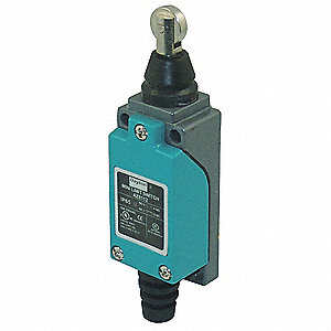 General Purpose Limit Switch, 300VAC/DC Voltage Rating, 10 Amps, Top Actuator Location
