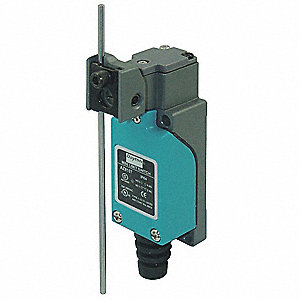 Compact Limit Switch, 300VAC/DC Voltage Rating, 10 Amps, Side Actuator Location