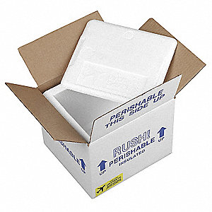 Insulated Shipping Kit,20-3/4 In. L