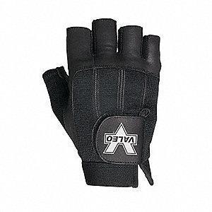 GLOVE MAT HAND HALF FINGER W/STRAP