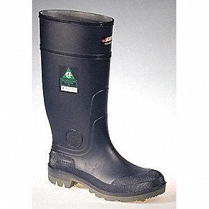 RUBBER BOOTS BULLY BL/C/G ST/SP SZ 10