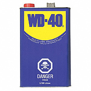 WD-40 LUBRICANT CAN 3.78L