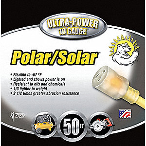 CORD 10/3 SJEOW POLAR SOLAR 50FT