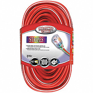 CORD 2/3 1 100 SJTW RED/WHT