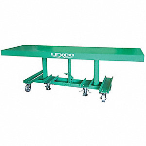 TABLE LIFT HYDR 6 FT X 30IN DECK