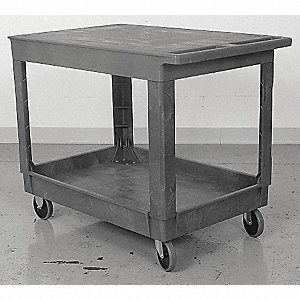 "Service Cart,500 lbs., 24""x36"""
