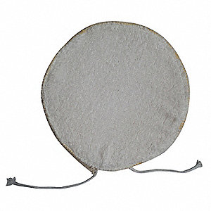 POLISHING BONNET,6 IN,TERRY CLOTH/F