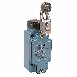 Rotary, Roller Lever General Purpose Limit Switch; Location: Side, Contact Form: 1NC/1NO, CW, CCW Mo