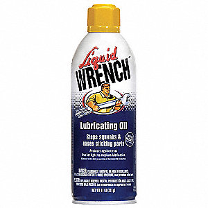 Lubricant Oil, 11 oz. Container Size, 11 oz. Net Weight