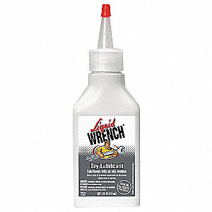 Dry Film Lubricant, -20°F to 110°F, Boron Nitride, 4 oz. Squeeze Bottle