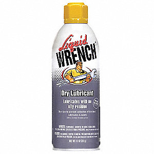 Dry Lubricant, 11 oz. Container Size, 11 oz. Net Weight