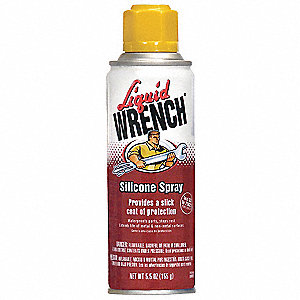 Silicone Spray, 5.5 oz. Container Size, 5.5 oz. Net Weight