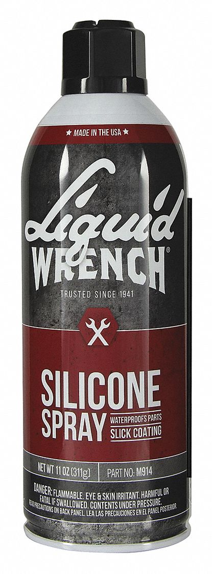 Silicone Spray, Aerosol Can, 11 oz.