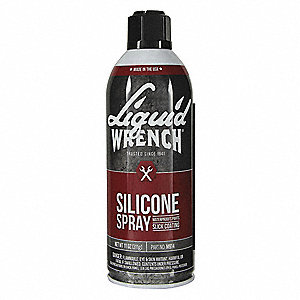 Lubricant, -20°F to 110°F, Silicone, 15.4 oz Aerosol Can