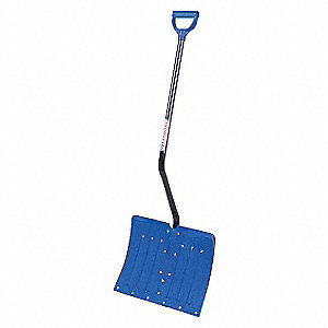 Snow Shovel,Alum.,D-Grip Handle