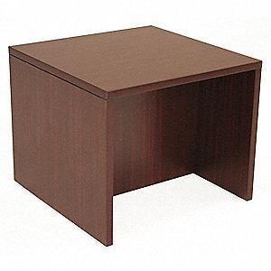 Superb End Table,Legacy Series,24x24,Mahogany