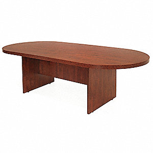 Conference Table,35 In x 6 ft,Cherry